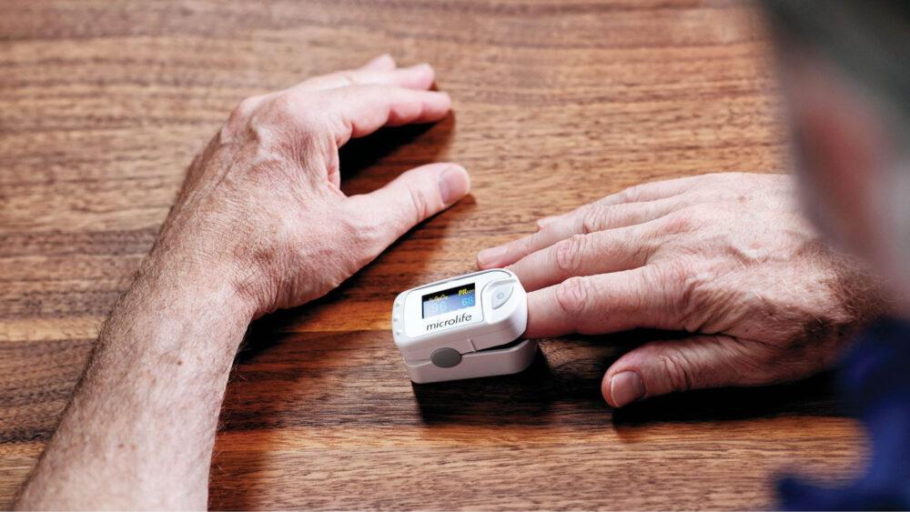 mjerenje zasićenosti kisikom